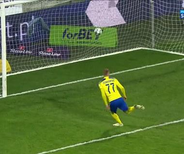 I Liga. Arka Gdynia - Akplan Resovia 1-0. Zwycięska bramka (POLSAT SPORT). Wideo