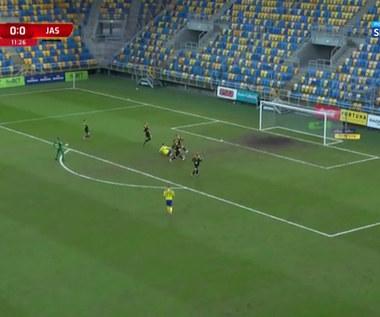 I Liga. Arka Gdynia - GKS Jastrzębie 1-0. Bramka Macieja Rosołka (POLSAT SPORT). Wideo