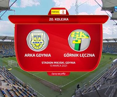 I Liga. Arka Gdynia - Górnik Łęczna 0-2. Skrót meczu (POLSAT SPORT). Wideo