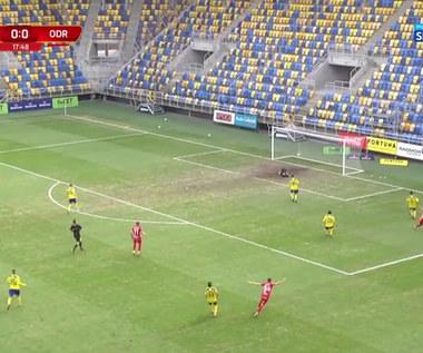 I Liga. Arka Gdynia - Odra Opole 1-1. Wszystkie bramki (POLSAT SPORT). Wideo