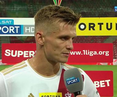 I Liga. Bartosz Szeliga (ŁKS): Na boisku nie było sentymentów. (POLSAT SPORT). Wideo