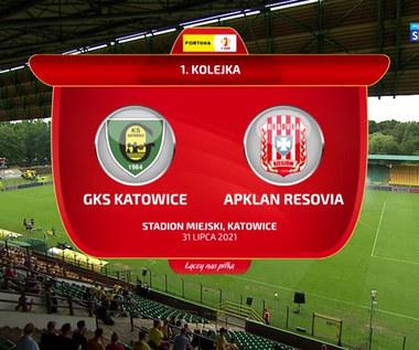 I Liga. GKS Katowice - Resovia 2-2. Skrót meczu (POLSAT SPORT). Wideo