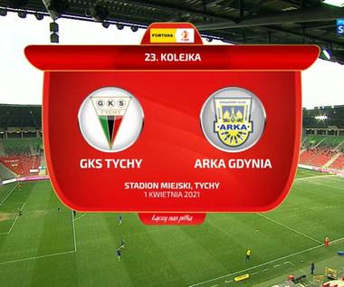 I liga. GKS Tychy - Arka Gdynia 1-0. Skrót meczu (POLSAT SPORT). Wideo
