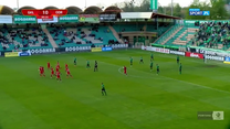 I Liga. Górnik Łęczna - Odra Opole 1-1. Wszystkie bramki (POLSAT SPORT). Wideo