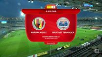 I liga. Korona Kielce - Bruk-Bet Termalica Nieciecza 0-3 - skrót (ZDJĘCIA ELEVEN SPORTS). WIDEO