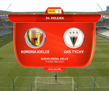 I liga. Korona Kielce - GKS Tychy 1-0 - skrót (POLSAT SPORT). WIDEO