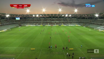 I Liga. Korona Kielce - Skra Częstochowa 2-0. Gole (POLSAT SPORT). Wideo