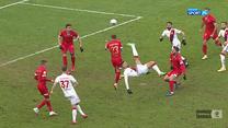 I Liga. ŁKS Łódź - Widzew Łódź 2-2. Wszystkie bramki (POLSAT SPORT). Wideo