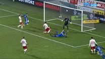 I Liga.  ŁKS – Miedź Legnica 3-4. Skrót meczu (Polsat Sport). wideo
