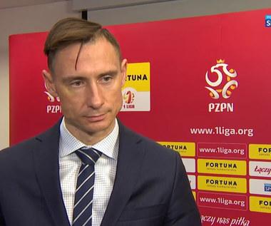 I liga. Maciej Sawicki: Nowa umowa z Fortuną to potwierdzenie, że idziemy w dobrym kierunku (POLSAT SPORT). Wideo