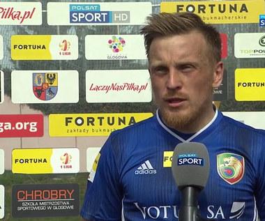 I Liga. Marcin Garuch (Miedź Legnica): Jest niedosyt (POLSAT SPORT). Wideo