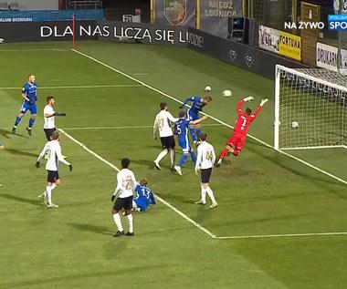 I Liga. Miedź Legnica - Stomil Olsztyn 2-2. Skrót meczu (POLSAT SPORT). wideo