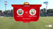 I Liga. Odra Opole - Miedź Legnica 1-4. Wszystkie bramki (POLSAT SPORT). Wideo
