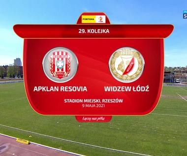I liga. Resovia - Widzew Łódź 2-0. Skrót meczu (POLSAT SPORT). Wideo