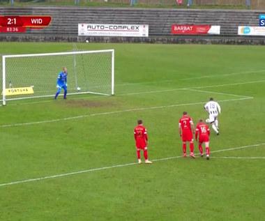 I liga. Sandecja Nowy Sącz - Widzew Łódź 3-1. Wszystkie bramki (POLSAT SPORT). Wideo