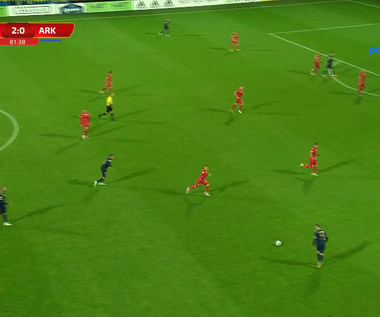 I liga. Skra Częstochowa - Arka Gdynia 2-1 - SKRÓT. WIDEO (Polsat Sport)
