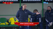 I Liga. Tomasz Salski skomentował zmianę trenera w ŁKS Łódź (POLSAT SPORT). Wideo