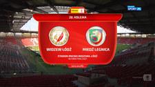 I liga. Widzew Łódź - Miedź Legnica 0-0. Skrót meczu (POLSAT SPORT). Wideo