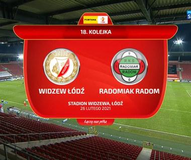 I Liga. Widzew Łódź - Radomiak Radom 1-1. Skrót meczu (POLSAT SPORT). Wideo