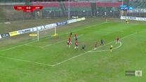 I Liga. Zagłębie Sosnowiec - Odra Opole 0-2. Gole (POLSAT SPORT). Wideo