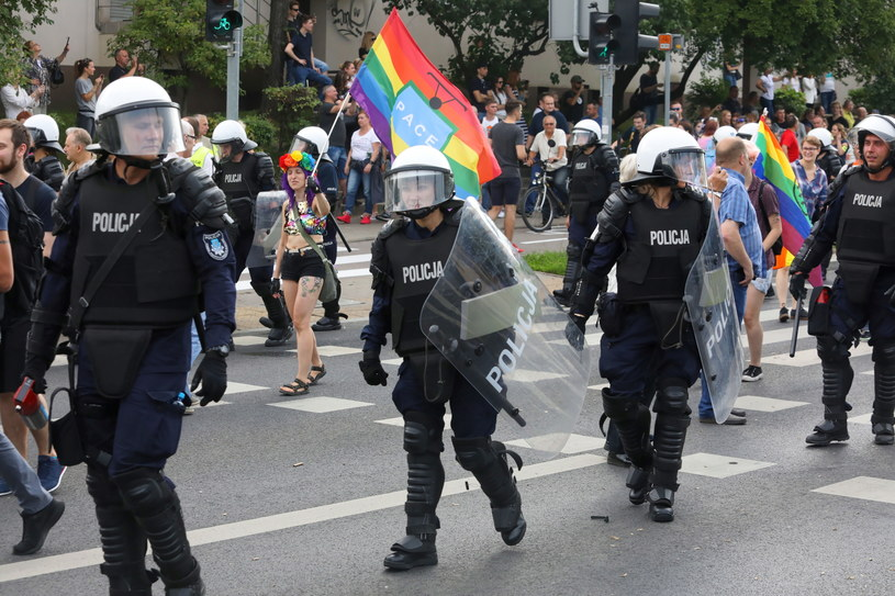 I Marsz Równości w Białymstoku organizowany był przez Stowarzyszenie Tęczowy Białystok / Artur Reszko    /PAP