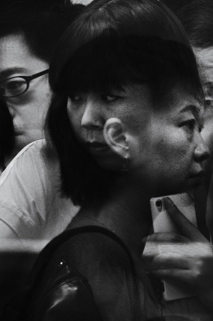 I miejsce/ Portrety/Zatłoczony peron Shinjuku (Japonia) /TOMASZ LAZAR, FREELANCER /