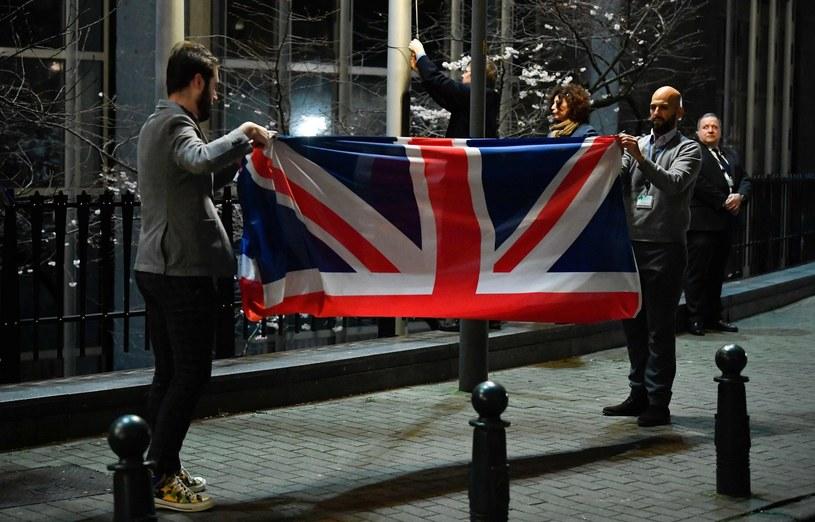 I nastąpił brexit /AFP