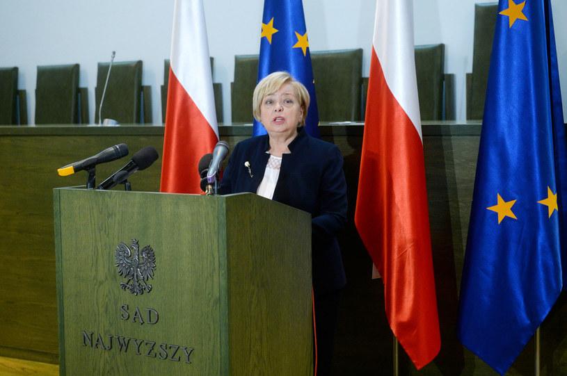 I prezes Sadu Najwyższego Małgorzata Gersdorf /Jan Bielecki /East News