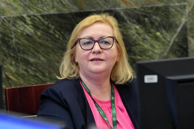 I Prezes Sądu Najwyższego Małgorzata Manowska podczas posiedzenia KRS w Warszawie /Małgorzata Manowska /PAP