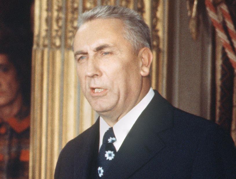 I sekretarz KC PZPR Edward Gierek /AFP