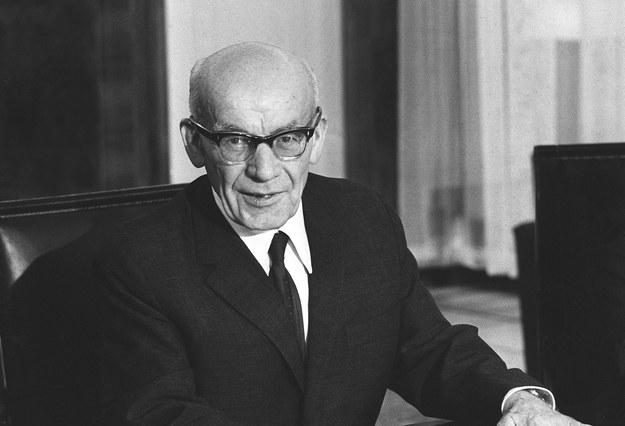 I sekretarz KC PZPR Władysław Gomułka rozpętał antysemicką kampanię /AFP