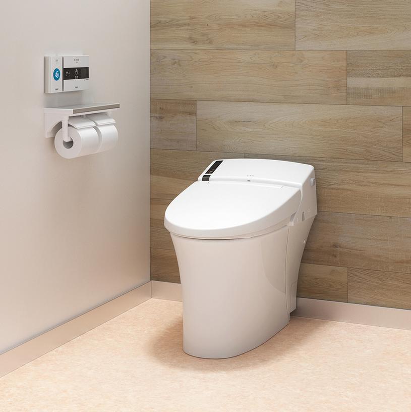 I widok na toaletę, w którym go zamontowano /East News