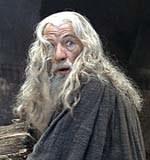 Ian McKellen jako Gandalf /