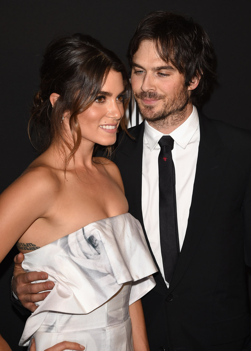 Ian Somerhalder z żoną, Nikki Reed /Jason Merritt /Getty Images