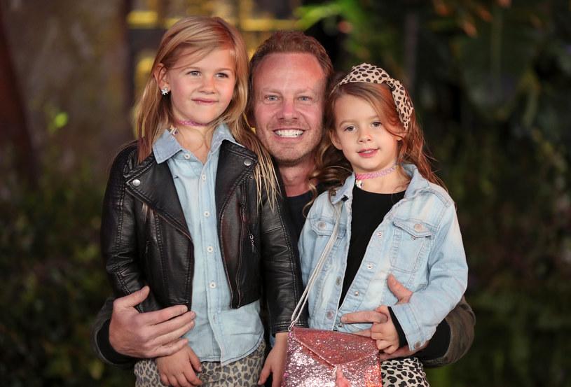 Ian Ziering z córkami /Christopher Polk /Getty Images