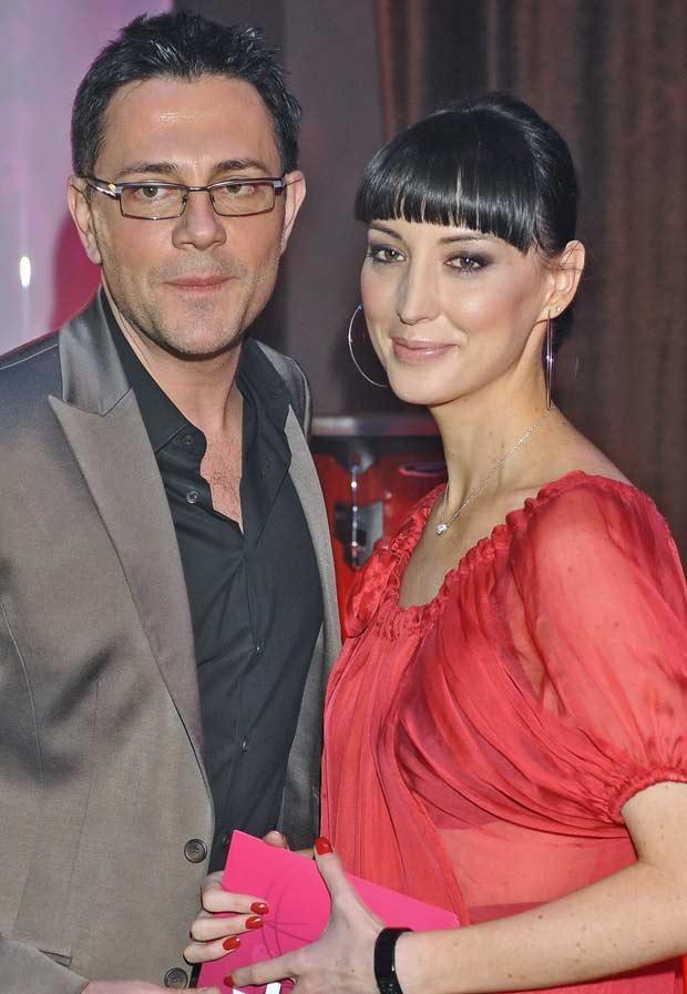 Ibisz z pierwszą żoną, fot. Andras Szilagyi  /MWMedia