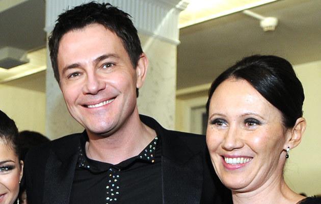Ibisz z żoną, fot. Andrzej Szilagyi  /MWMedia