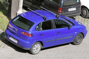 Ibiza na redakcyjnym parkingu...