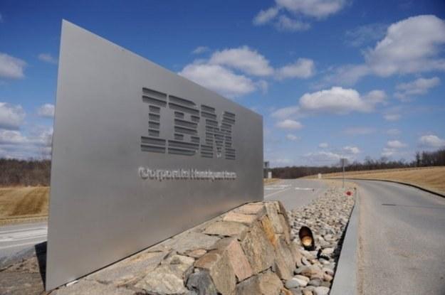 IBM wraz z Politechniką Wrocławską stawiają na cloud computing /AFP