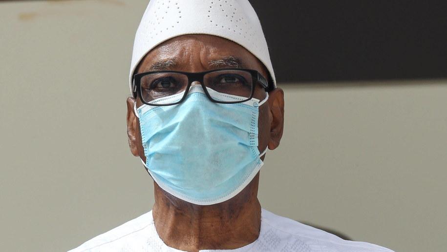 Ibrahim Boubacar Keita /LUDOVIC MARIN / POOL /PAP/EPA