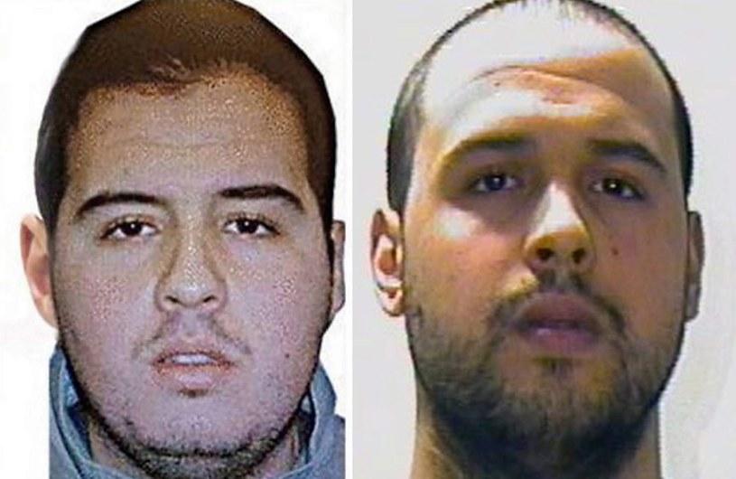 Ibrahim (z lewej) i Khalid El Bakraoui /PAP/EPA