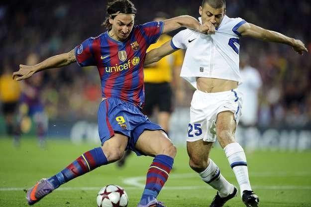 Ibrahimović chce udowodnić swoją wartość w Barcelonie /AFP