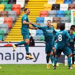 Ibrahimovic trafił z przewrotki, a AC Milan wygrał kolejne spotkani