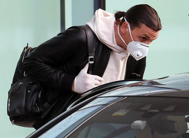 Ibrahimovic złamał w Szwecji przepisy epidemiologiczne /MATTEO BAZZI    /PAP/EPA