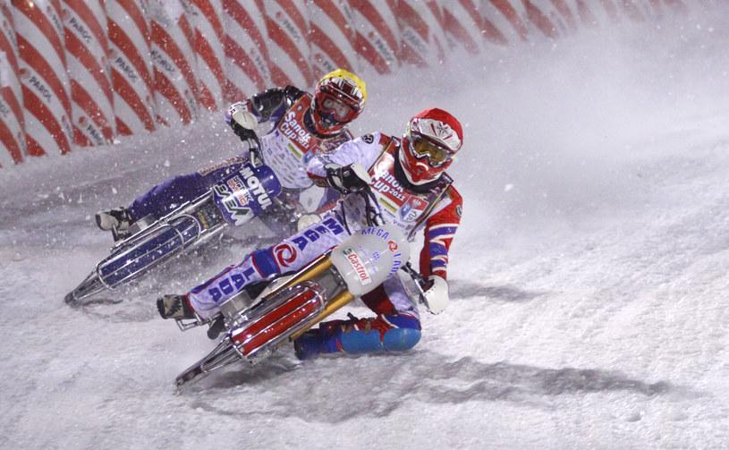 Ice speedway to niezwykle widowiskowa dyscyplina sportu /Tomasz Sowa /Informacja prasowa