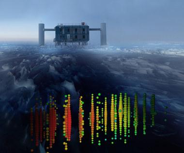 IceCube wykrył neutrina spoza Układu Słonecznego