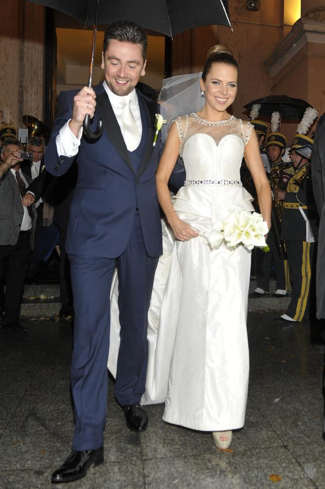 Ich ślub był wydarzeniem roku 2012 /Jacek Kurnikowski /AKPA