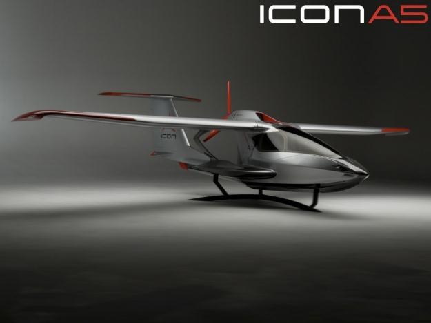 Icon A5 - wygląda rewelacyjnie, a jak lata?   Fot. iconaircraft.com /materiały prasowe