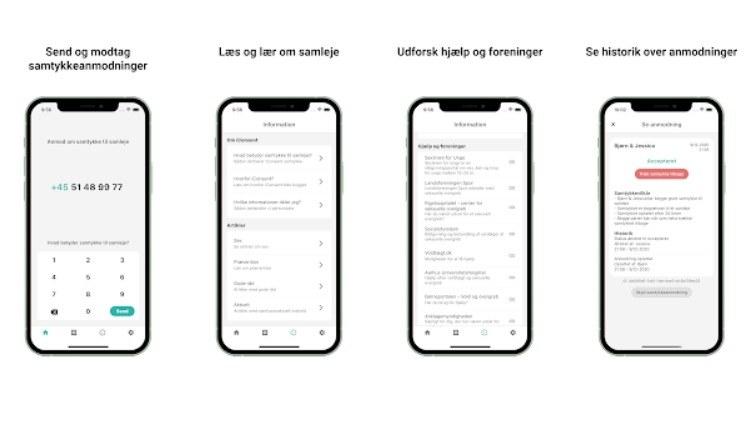 iConsent - Danmarks samtykkeapp /materiały prasowe