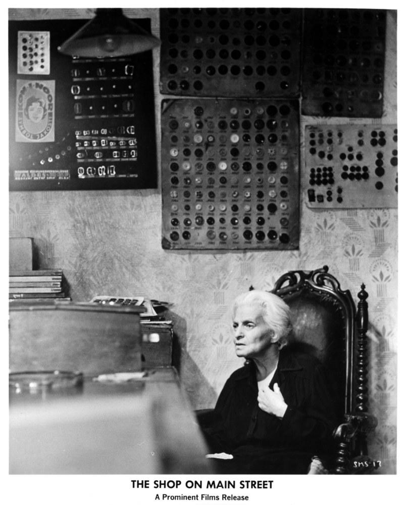 """Ida Kamińska w nominowanej do Oscara roli w filmie """"Sklep przy głównej ulicy"""" /Michael Ochs Archives /Getty Images"""